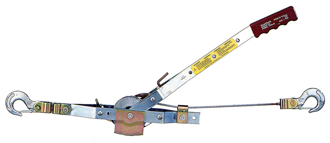 Maasdam 144S-6 Pow'R Pull 1-Ton Cable Puller, 12 ft Cable Length, 15:1 Leverage - CBS BAHAMAS LTD